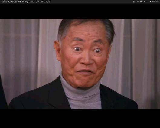 Coming out George Takei
