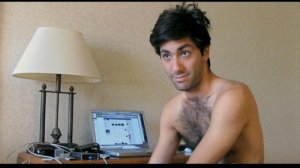 Nev eyes and chest