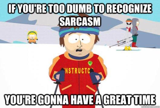 south park sarcasm