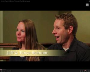 Jeff and Tanya Bennion