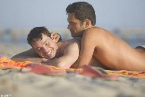 Gays on beach