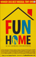 Fun Home the Musical Broadway Poster